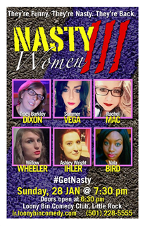 Nasty Women  of Comedy Vol. III