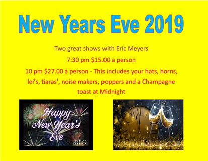 New Years  Eve 2019